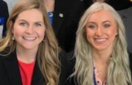 Viterbo nursing students advocate on Capitol Hill