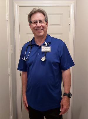 Richard Hecker recently put in his last day as a full-time physician assistant in Waco, Texas. Much of his career has been devoted to caring for the underserved, including many medical missions around the globe.